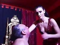 Mistress I.S hard face slapping