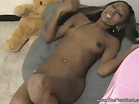 Ebony Princess Oral Sex Magic With Cumshot