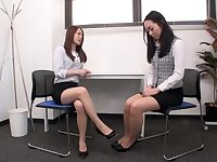 Incredible Japanese chick in Hottest Lesbian, HD JAV clip