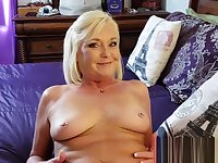 Slutty Taboo Mommy Gets Her Pussy &amp_ Ass Fucked
