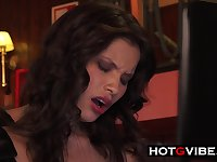 Spanish Asian Squirts In Cafe