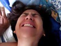 Desi Wife Likes Engulfing Schlong and Fingering her Choot