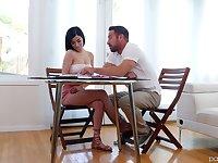 Lustful student Savannah Sixx seduces her handsome teacher Johnny Castle