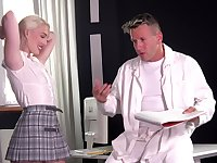 Doctor Fucks Cute Blondie Lovita Fate
