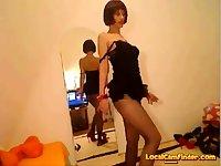 Mature Women In Shiny Pantyhose
