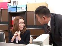 Amazing Japanese model Emiru Amane in Best small tits, office JAV video