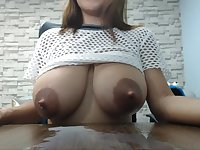 Huge milky tits fetish video