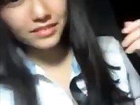 Attractive Korean girl's amateur self video