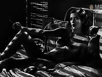 Bed and bathing nude scenes by charming Eva Green are fantastic