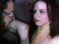 Tied up submissive hoe Claire Adams deserves some rough treatment