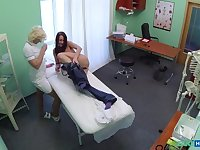 Naughty Nurse Heals Sexy Patient With Her Tongue