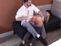 Spanking the Disobedience Out of Mackenzie Reed